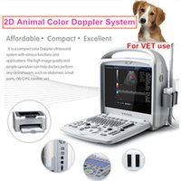 Wholesale VET Animal color doppler usg color doppler ultrasonic machine echo scanner ultra sound scan portable echo sonography color doppler machine