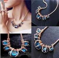 hip hop jewelry - crystal diamond necklace pendant necklace statement gem necklace collar hip hop jewelry love necklaces pendants fantasy jewelry free ship