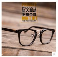 Black ancient orange - Glass frame star shawn yue restoring ancient ways with han edition