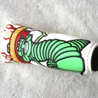 beautiful fishing - logo no show sale the Fashionest torch of worms brand golf headcovers headcover beautiful fish cover