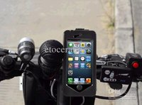 Wholesale Bike Bicycle Mount Holder Stand Tough Case Waterproof Cover for iphone s