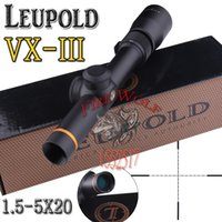 Wholesale NEW Leupold X20 Mil dot Illuminated Riflescopes Rifle Scope Hunting Scope fits for mm mm