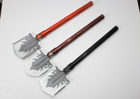 aluminum snow shovels - NEW Outdoor Shovel Multifunction Folding for Camping Hiking Emergency Rescue S02