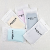 authentic underwear - 200pcs Authentic Japanese new MUNAFIE underwear seamless high waist fat belly in warm palace lace shape memory