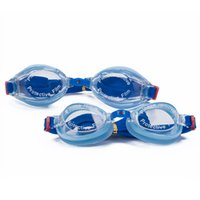 beach toys for adults - Disney Micky Blue Swimming Goggles Family set goggles One for Adult One for Kid