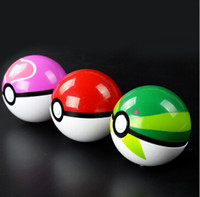 Wholesale 2016 cm cm cm pokeball pokémon go poke figures For Cosplay Plastic Poke Ball Manga Toy for kid DHL Free