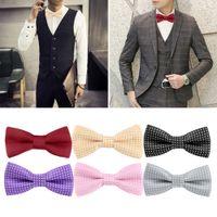 Wholesale Fashion Multicolor Men Polka Dot Bow Tie Luxury Adjustable Adults Bowties Dickie Pre Tied