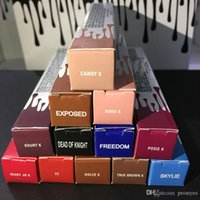 Wholesale 12 colors Factory Direct DHL New Makeup Lips Kylie Lip Kylie Jenner Matte Liquid Lipstick