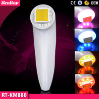 Wholesale Professional Color Skin Care RF Portable Dot Matrix Thermage Fractional RF Skin Anti Aging Wrinkle Removal Machine For Home Use To Salon