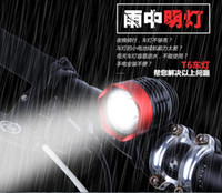 Wholesale Super USB bicycle headlight T6 mountain bike plug in specialty light leds light L2 riding hunting