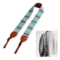 Wholesale Vintage Camera Shoulder Neck Belt Strap For SLR DSLR Canon Nikon Sony Panasonic