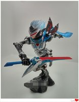 Wholesale LOL League of Legends Fiora The Grand Duelist Warrior Assassin Action Figures Solid Toys Great quality