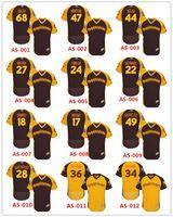baseball pagan - 2016 MLB All Star Stitched baseball jerseys SF Hunter Pence Joe Panik Buster Posey Brandon Crawford Brandon Belt Duffy Pagan Jerseys