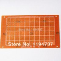 Wholesale 50pcs x15cm Single side Prototype Paper PCB printed circuit board Universal board Test board PCB single panel