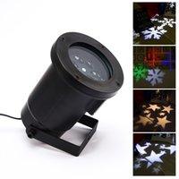 Wholesale IP65 Waterproof Outdoor Projection Laser Light Elf Christmas lights Xmas Star laser stage light US EU UK plug