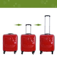 Wholesale Carry on suitcase Boarding rolling luggage Super light luggage Business Short trips trolley luggage spinner Hello Kitty Style