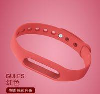 Wholesale Sports Bracelet Watch Strap smart Bracelet Wristband Bracelet Watch Strap colorful optional smart wearable replacement