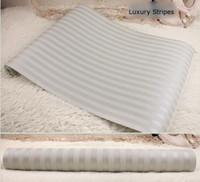 papel pintado a rayas de la vendimia papel pintado no tejido de la pared del fondo para los papeles de pared de la sala de estar papel pintado de la