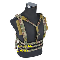 Wholesale 2016 newest tactical hanging vest outdoor paintball tactical gear airsoft tactical vest colors free size