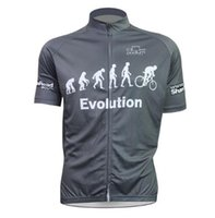 Wholesale Evolution Evolutions Bike Cycling Jersey Tops Men Mens man Short Sleeve Jerseys Shirts Summer Cycling Wear design and colour road