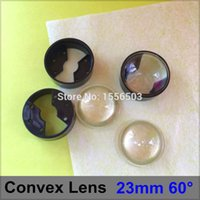 Wholesale semi circle Plano convex LED Lenses mm Angle Degree Optic Lens Grade PMMA for Lens Reflector