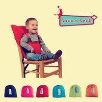 Wholesale Baby Safety Waterproof Soft Dinner Chair Oxford Cotton Chair Fashion Infant Seat Feeding Highchair For Baby chair Seat
