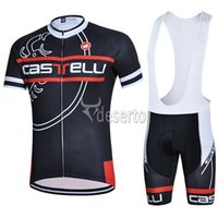 bicycle max - Cast Hot Sale Cycling Jersys Set Black Short Sleeve With Cool Max Padded Bib None Bib Pants High Elastic Men Bicycle Clothing