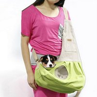 Wholesale Freeshiping Whosale Pet Bag Dogs Supplies Shoulder Bags For Small Pets Cats Carrier Travell Bag Outdoor Dog Carry Bag