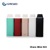 Wholesale Eleaf iCare Starter Kit ml Tanks mah Battery Icare Mini PCC ml mah Battery Kits ohm IC Head Original