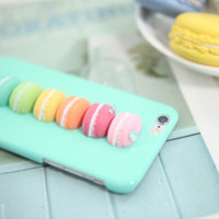 bag com - LOVE COM Candy Cake Case for iPhone s plus s plus Mobile Phone Cases D Cute Donut Hard PC Cover Protective bags