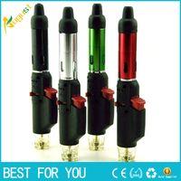 Wholesale Hand sneak a vape vaporizer incense burner click n vape smoking metal lighter neak a toke gas lighter