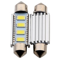 aluminum door plate - Everbright High quality Festoon Canbus SMD mm mm mm mm white housing whiteLed Aluminum Door Light