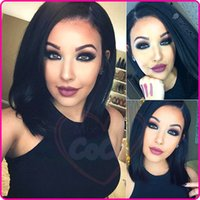Wholesale Brazilian Full Lace Human Hair Wigs Silky Straight Human Hair Lace Front Wigs Black Women Glueless Full Lace Wigs With Baby Hair