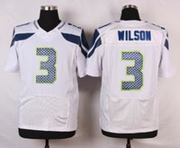 Wholesale Seahawks Russell Wilson Football Jerseys Cheap Football Jerseys Men Fan Richard Sherman Marshawn Lynch White Jerseys