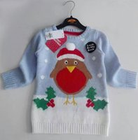 baby sweaters to knit - 12M to years baby kids girls christmas sweaters children fashion knitted casual pullover sweaters outerwear clothes