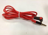 apple detox - Promotion M mm Male to Male Detox Pro Headphone Replacement Audio Extension Cable AUX Cable Red