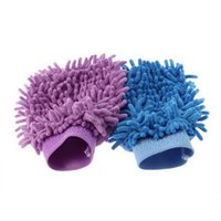 Wholesale Chenille Super Mitt Microfiber Car Wash Gloves Glove Washing Cleaning Anti Scratch car washer Household care brush