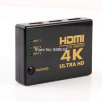 audio signal switch - 4K K P HDMI Video Audio Signal Splitter Input Output Switch Switcher For DVD PS4 HDTV Cheap switch standard