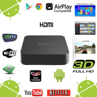 Wholesale 2016 MXQ Online Update MXQ MXG MXS TV BOX Amlogic S805 Quad Core Android Airplay TV Channels Programs Media Player android tv box