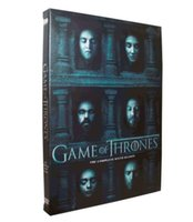 Wholesale Hotselling Game of thrones season DVD set UK US version Brand New Sealed DHL Shipping Factory Cheap Price