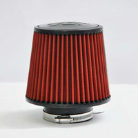 Wholesale Car modified into the air filter MM high flow car mushroom head car air lattice can be cleaned