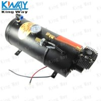 air compressor with tank - King Way Horn Air Compressor with Liter Tank for Air Horn Train Truck RV Pickup PSI