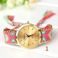 best suit fabrics - Woman bracelet watch quartz watch multicolor suit with stylish new clothes hot explosion models casual fashion women s best love