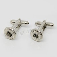 Wholesale DIY blank interchangeable noosa chunk snap button cufflinks jewelry for mm snap buttons