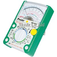 Wholesale gear Proskit MT AC DC LCD Protective Function Analog Multimeter Ohm Test Meter Capacitance Measurement