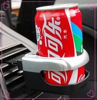 Wholesale 2500pcs CCA3699 High Quality Folding Car Cup Holder Car Outlet Drink Holder Multifunctional Drink Holders Auto Supply Car Vehicle Bottle Cup