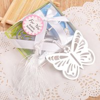 baby shower keepsakes - DHL Butterfly Bookmark For Girl Baby Shower Souvenirs Graduation Party Giveaway Wedding Keepsake Favors and Gifts For Guest