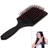 Wholesale 2016 New Arrival Fashion Practical Comfortable Health Wide Tine Massage Scalp Hair Brush Makeup Airbag Comb