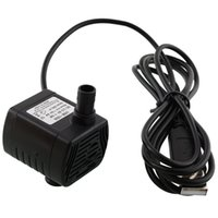 Wholesale DC V V W USB Fountain Pond Water Pump Aquarium Fish Tank HOT L h m Water Circulating