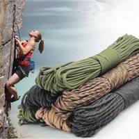 Wholesale 31M Military Standard Paracord Strand mm Parachute Cord Outdoor EDC Clothesline Camping Climbing Rescue Gadget Tent Rope
